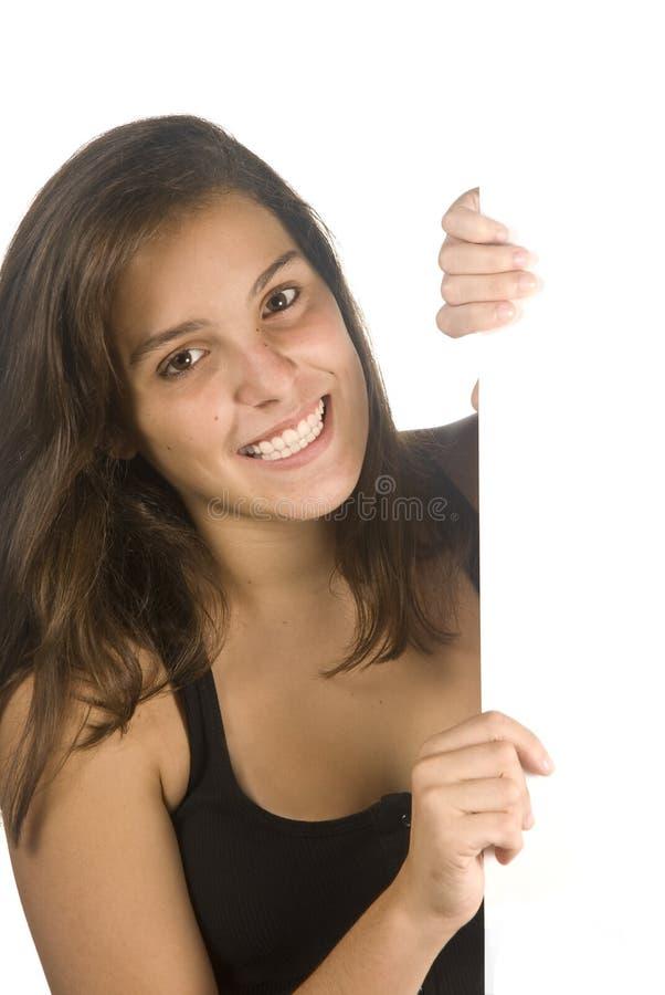 εφηβική κενή ευτυχής εκμ& στοκ φωτογραφία με δικαίωμα ελεύθερης χρήσης