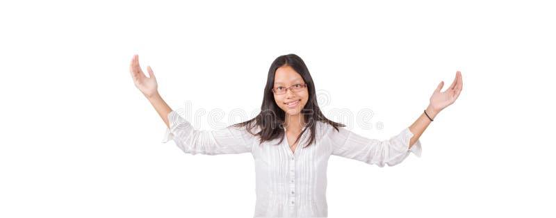 Εφηβικό ασιατικό κορίτσι στοκ εικόνες