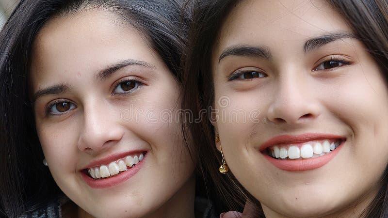 Εφηβικό θηλυκό πρόσωπο στοκ φωτογραφία με δικαίωμα ελεύθερης χρήσης