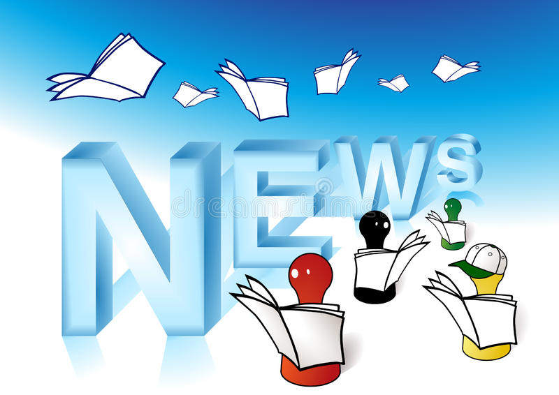 εφημερίδες ελεύθερη απεικόνιση δικαιώματος