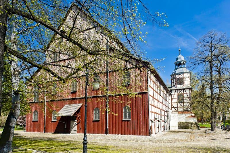 εφοδιασμένη με ξύλα εκκλησία Jawor, Σιλεσία, Πολωνία στοκ φωτογραφίες με δικαίωμα ελεύθερης χρήσης