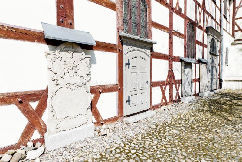 εφοδιασμένη με ξύλα εκκλησία Jawor, Σιλεσία, Πολωνία στοκ εικόνες με δικαίωμα ελεύθερης χρήσης