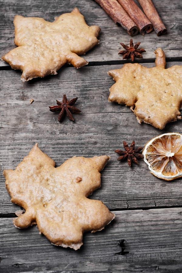 Εύγευστα μπισκότα πτώσης στοκ φωτογραφία