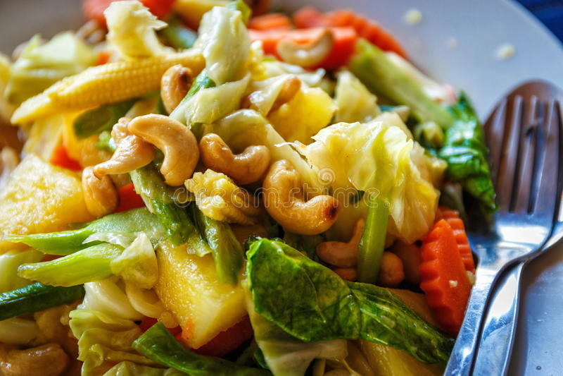 εύγευστα τρόφιμα Ταϊλανδό& στοκ εικόνες