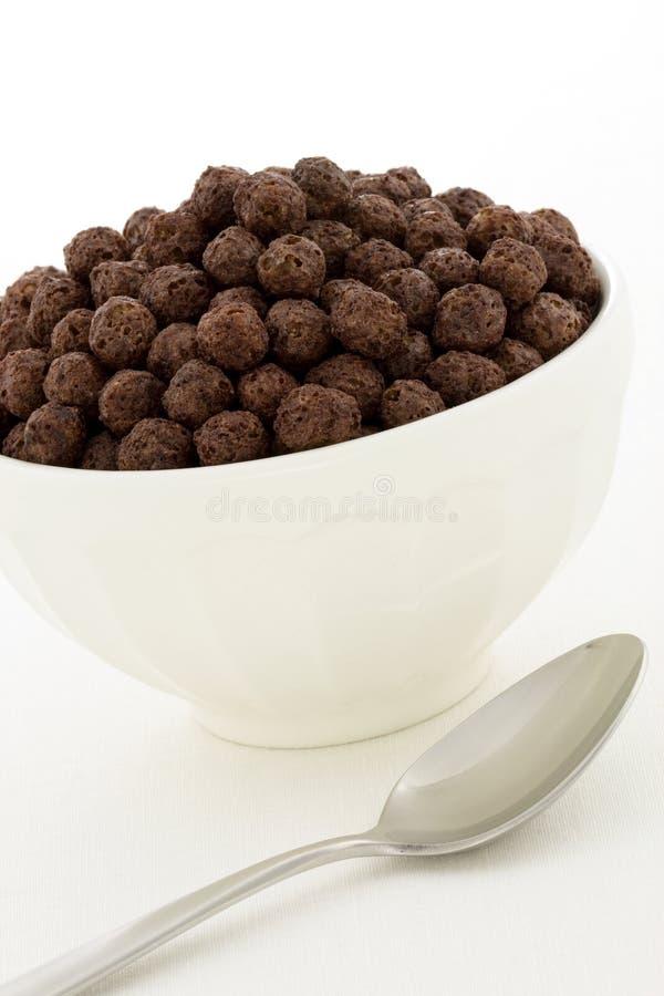 εύγευστα υγιή κατσίκια σοκολάτας δημητριακών στοκ εικόνες