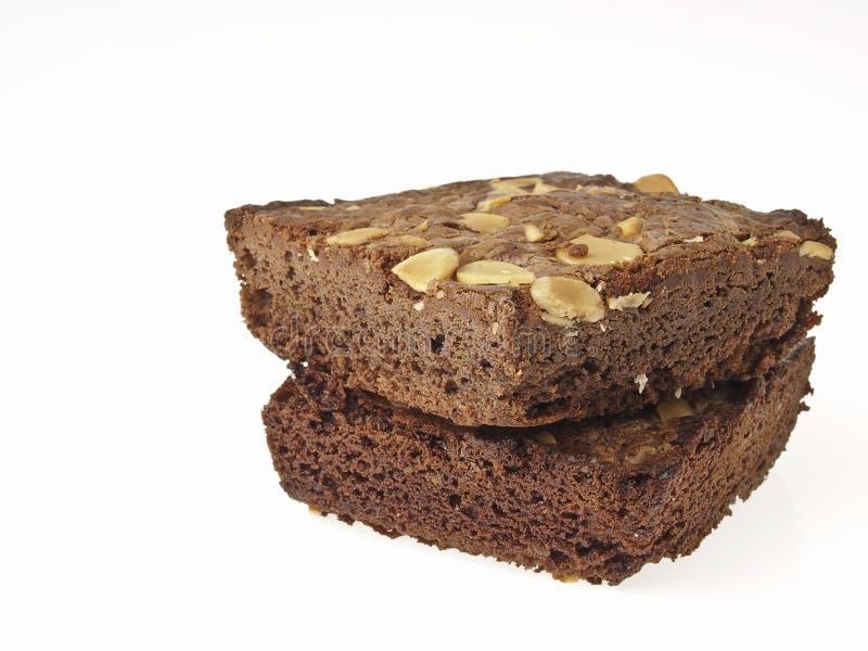 Εύγευστα brownies στοκ εικόνα με δικαίωμα ελεύθερης χρήσης