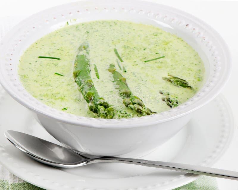 Εύγευστη κρεμώδης σούπα στοκ φωτογραφία