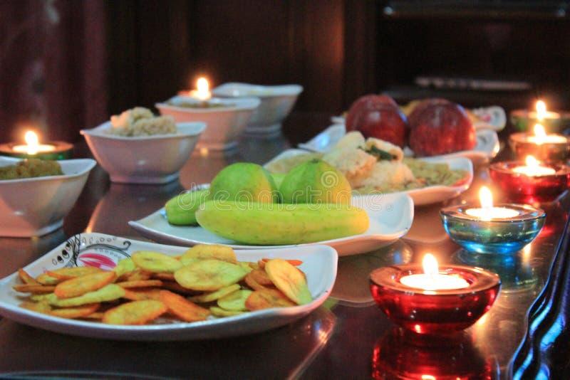 Εύγευστος εορτασμός Diwali στοκ εικόνα