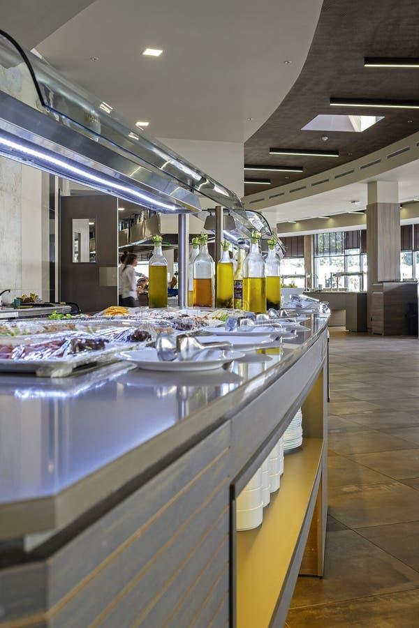 Εύγευστος μπουφές στο κύριο εστιατόριο 1 στοκ εικόνες με δικαίωμα ελεύθερης χρήσης