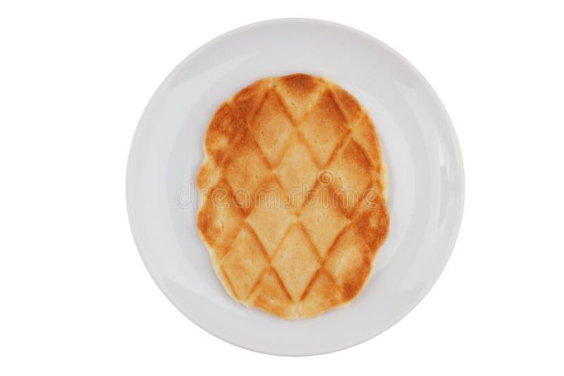 εύγευστο πιατάκι μπισκότ&o στοκ εικόνες με δικαίωμα ελεύθερης χρήσης