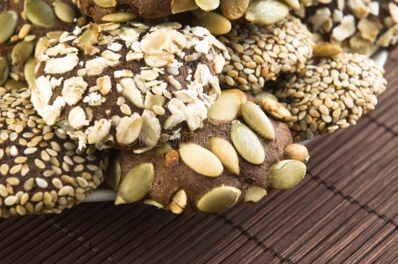 εύγευστο homemeade μπισκότων σοκολάτας στοκ φωτογραφία