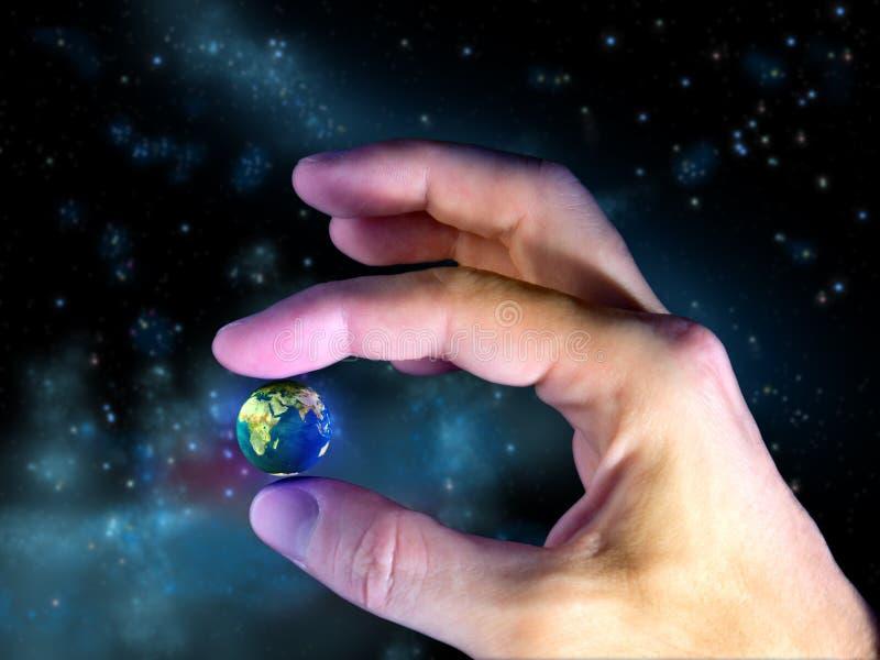 εύθραυστος πλανήτης διανυσματική απεικόνιση