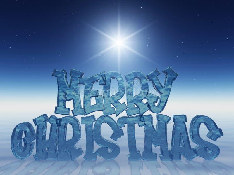 εύθυμα Χριστούγεννα διανυσματική απεικόνιση