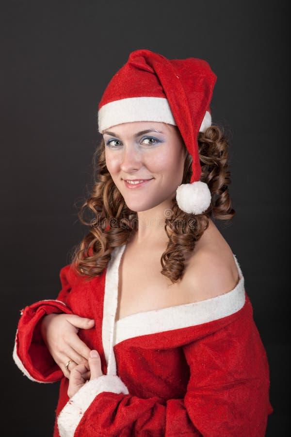 Εύθυμος Άγιος Βασίλης στοκ εικόνα