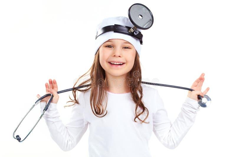 Εύθυμος γιατρός στοκ εικόνες