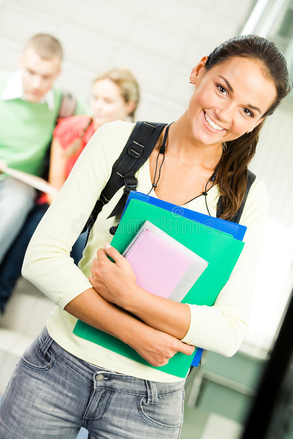 εύθυμος σπουδαστής στοκ φωτογραφία