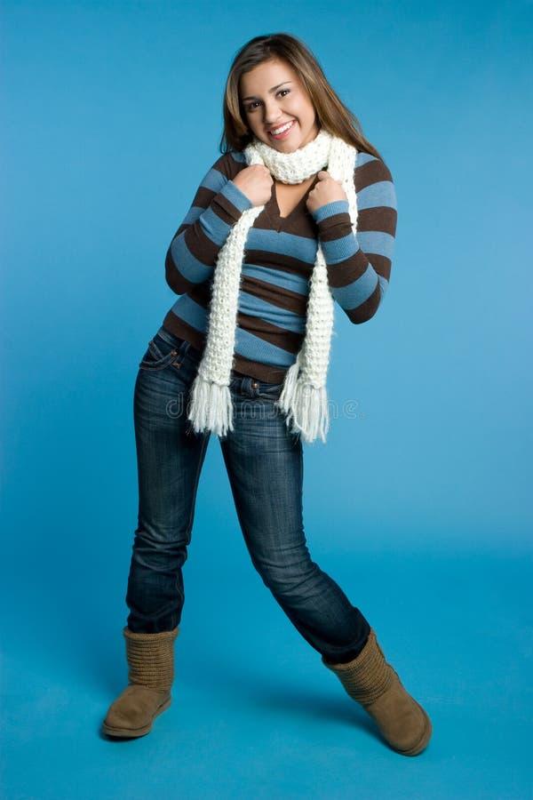 εύθυμος χειμώνας κοριτ&sigm στοκ εικόνες