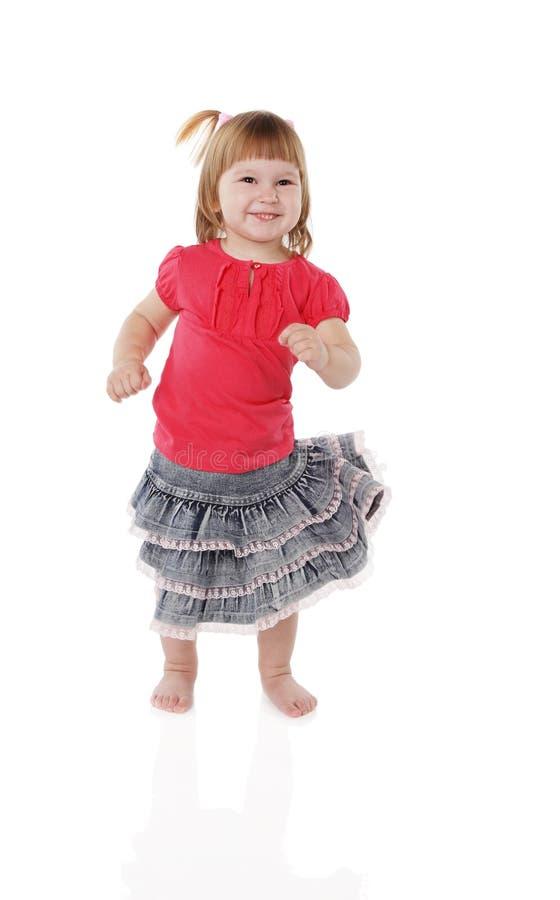 Download εύθυμο κορίτσι λίγα στοκ εικόνα. εικόνα από παιδί, διασκέδαση - 17052795