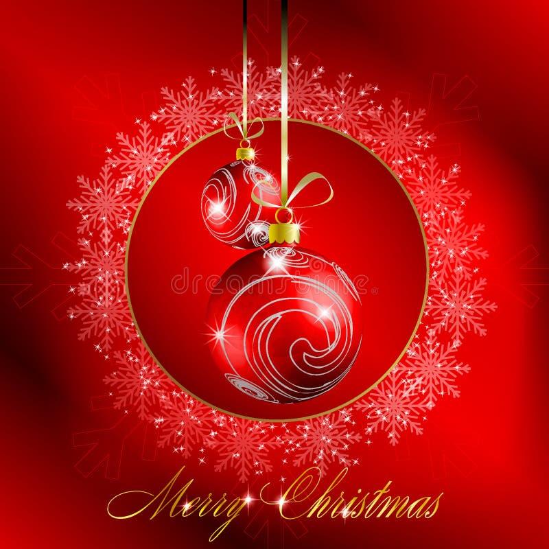 Download εύθυμο κόκκινο καρτών Χρι&s Διανυσματική απεικόνιση - εικονογραφία από κάλυψη, χαιρετισμός: 17054997