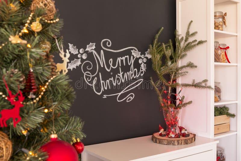 εύθυμο σημάδι Χριστουγέννων στοκ φωτογραφία