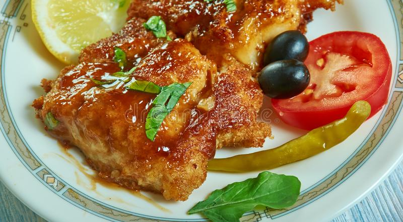 Εύκολος ψημένος μαριναρισμένος μέλι βακαλάος στοκ εικόνες με δικαίωμα ελεύθερης χρήσης