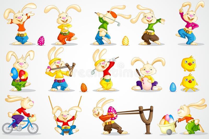 Bunny Πάσχας απεικόνιση αποθεμάτων