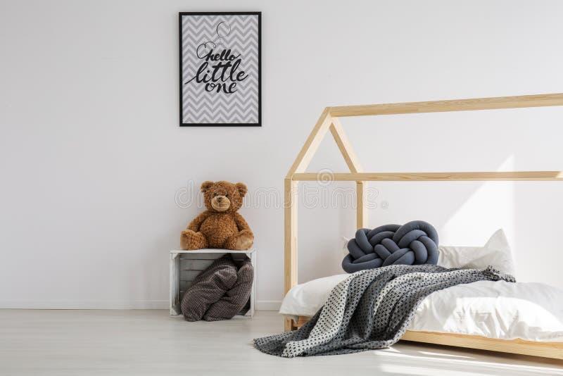 Ελάχιστο δωμάτιο παιδιών στοκ εικόνες με δικαίωμα ελεύθερης χρήσης