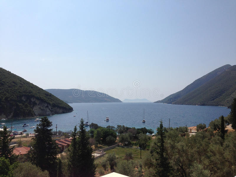 Ελλάδα οπτική στοκ εικόνα