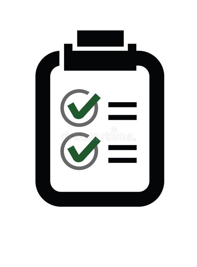 ελέγξτε τον κατάλογο ε&iot διανυσματική απεικόνιση