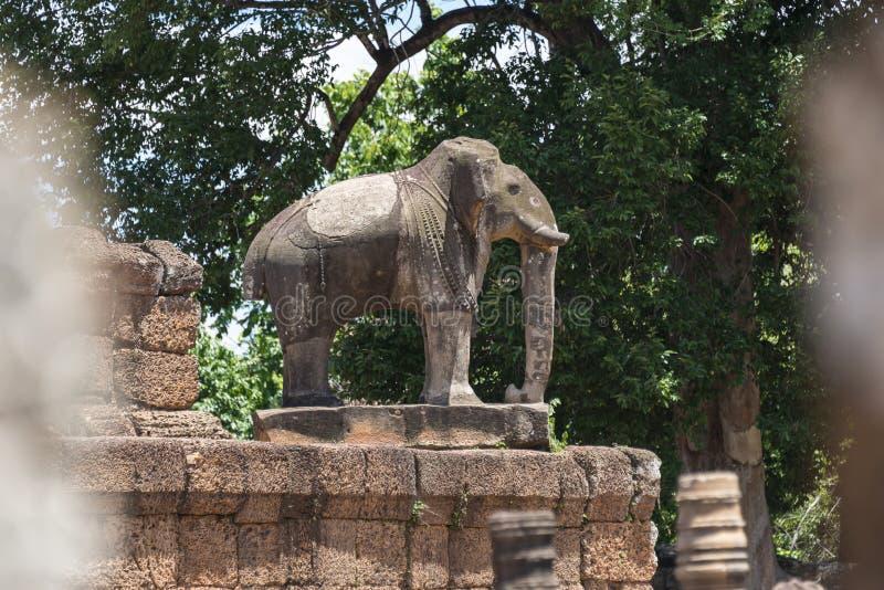 Ελέφαντας στο ναό ανατολικού Mebon, Angkor Wat στοκ φωτογραφία με δικαίωμα ελεύθερης χρήσης