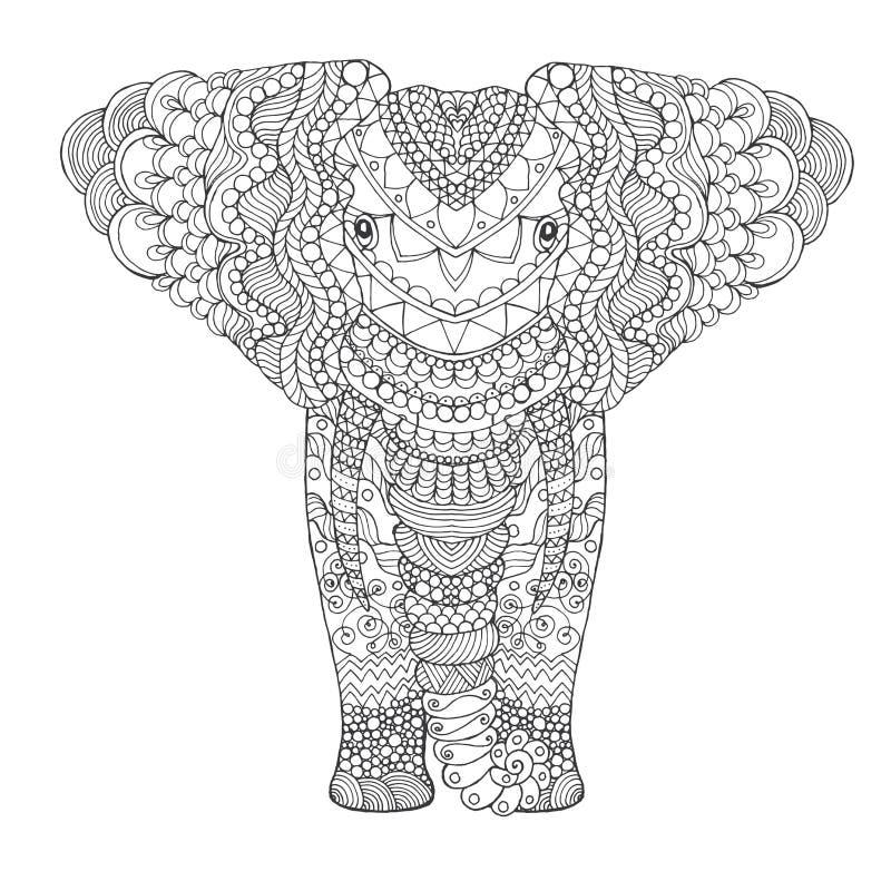 Ελέφαντας ελεύθερη απεικόνιση δικαιώματος