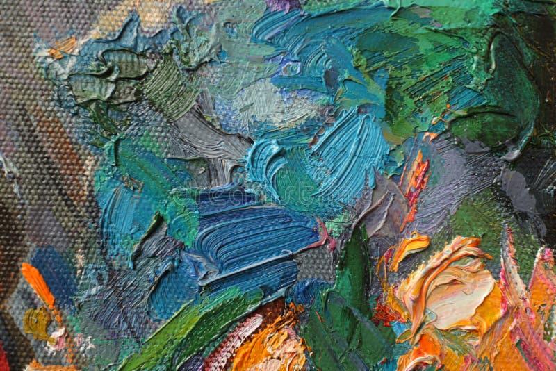 Ελαιογραφία σύστασης, χρωματίζοντας συντάκτης ρωμαϊκό Nogin στοκ φωτογραφία με δικαίωμα ελεύθερης χρήσης