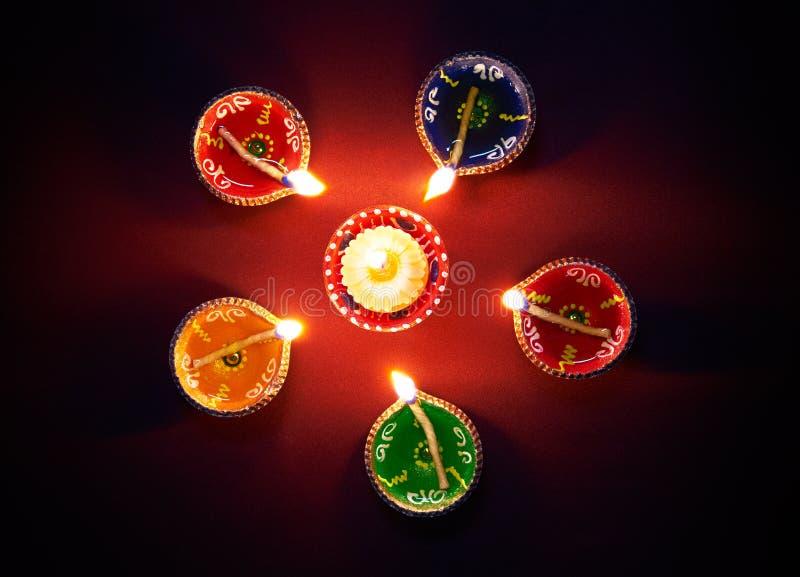 Ελαιολυχνία Diwali στοκ φωτογραφίες με δικαίωμα ελεύθερης χρήσης