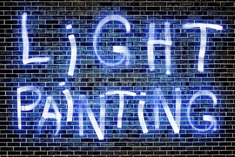 Ελαφριά ζωγραφική στοκ φωτογραφία με δικαίωμα ελεύθερης χρήσης
