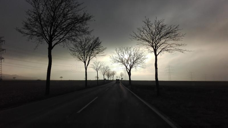 ελαφρύς δρόμος στοκ εικόνα