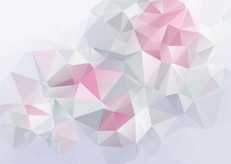 Ελαφρύ αφηρημένο υπόβαθρο triange απεικόνιση αποθεμάτων