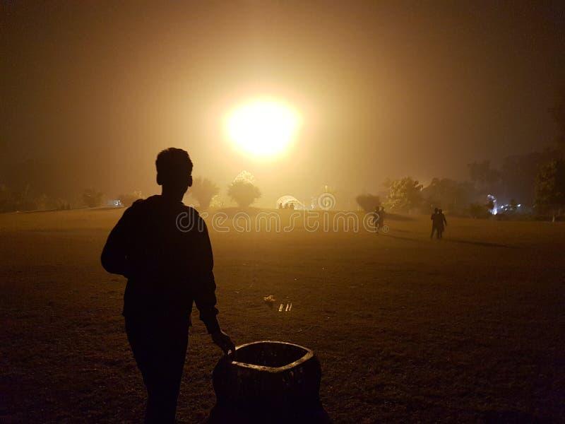 Ελαφρύ βράδυ Πάτνα στοκ εικόνα με δικαίωμα ελεύθερης χρήσης