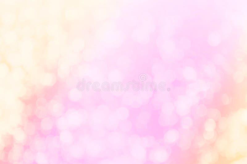 Ελαφρύ εκλεκτής ποιότητας υπόβαθρο Bokeh Defocused χρυσό στοκ εικόνα