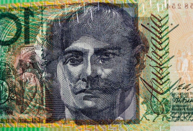 Ελαφρύ να λάμψει μέσω του λογαριασμού 100 δολαρίων που παρουσιάζει τυπωμένες ύλες του πορτρέτου στοκ εικόνες