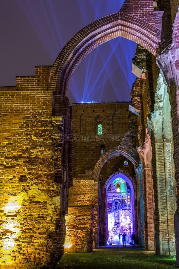 Ελαφρύ φεστιβάλ Tartu στοκ εικόνες