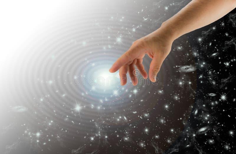 Ελαφρύ χέρι δύναμης στοκ φωτογραφία με δικαίωμα ελεύθερης χρήσης
