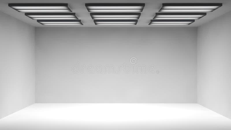 Ελαφρύ δωμάτιο απεικόνιση αποθεμάτων