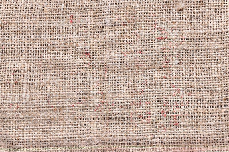 Ελαφρύ sackcloth υλικό στοκ φωτογραφία με δικαίωμα ελεύθερης χρήσης