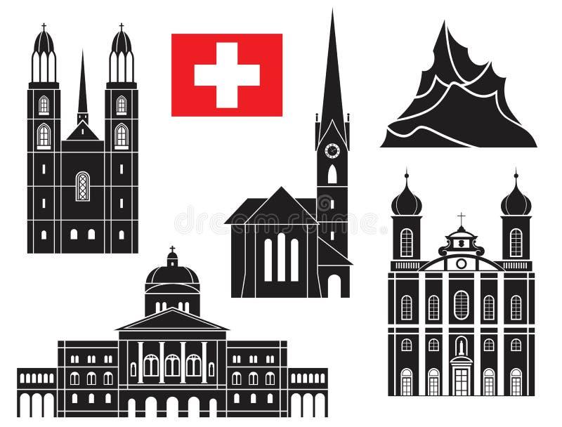Ελβετία ελεύθερη απεικόνιση δικαιώματος