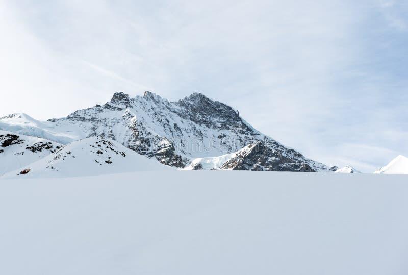 Ελβετικό βουνό, Jungfrau, Ελβετία, στοκ εικόνες