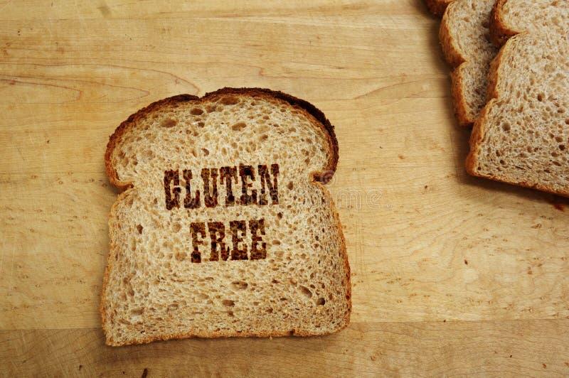 ελεύθερη γλουτένη ψωμιού στοκ εικόνα