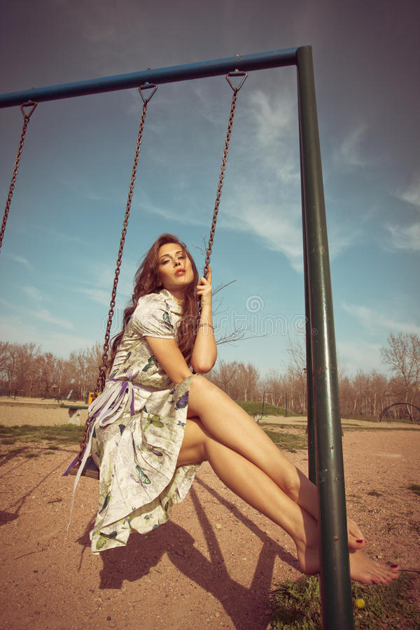 Ελεύθερος χρόνος θερινών γυναικών στοκ φωτογραφίες με δικαίωμα ελεύθερης χρήσης