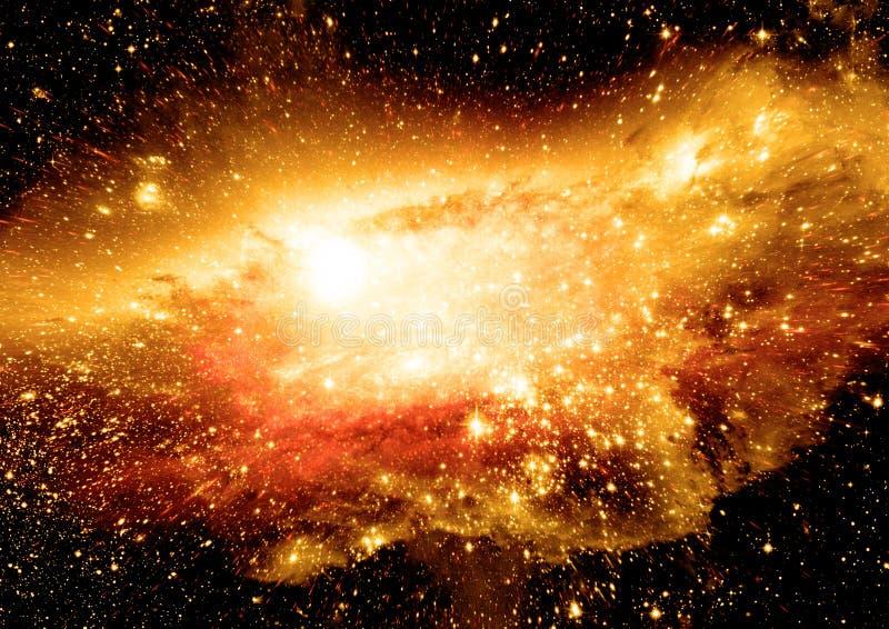 ελεύθερο διάστημα γαλαξιών απεικόνιση αποθεμάτων