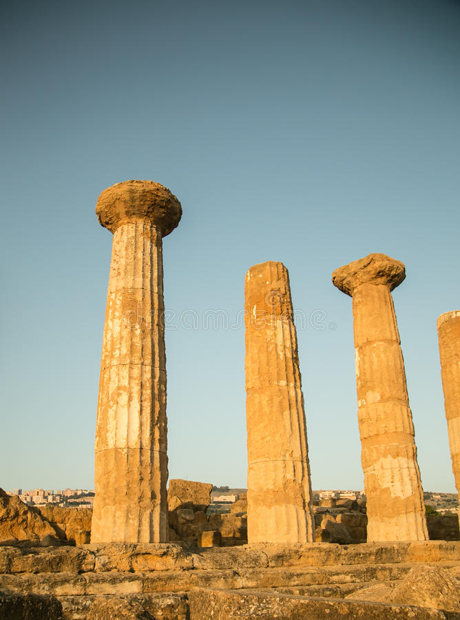 Ελληνικές καταστροφές στοκ φωτογραφίες
