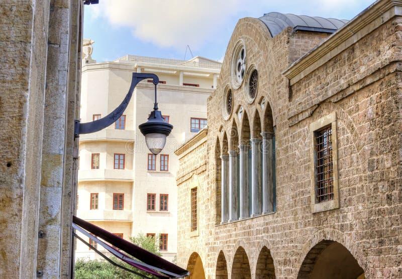 Ελληνική Ορθόδοξη Εκκλησία Αγίου George, Βηρυττός στοκ εικόνες